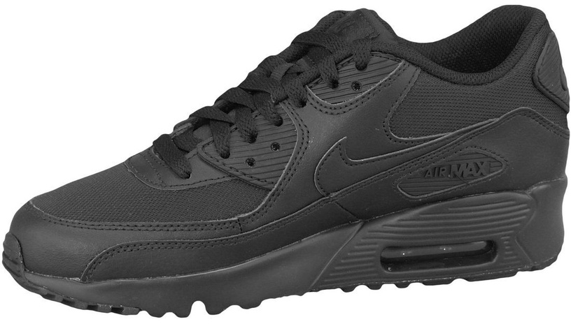 Nike Sneakers Air Max 90 Mesh Gs 833418-001 Black 38.5