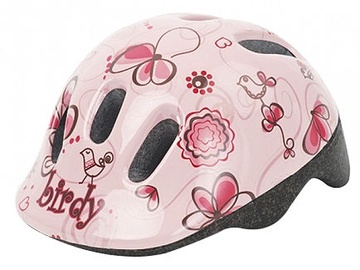 Шлем Polisport Birdy I2771, розовый, 44, 440 - 480 мм