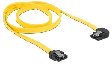 Delock Cable SATA / SATA Yellow 0.7m