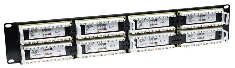 Intellinet Patch Panel 19'' UTP CAT 6 RJ45 x 48 2U Black