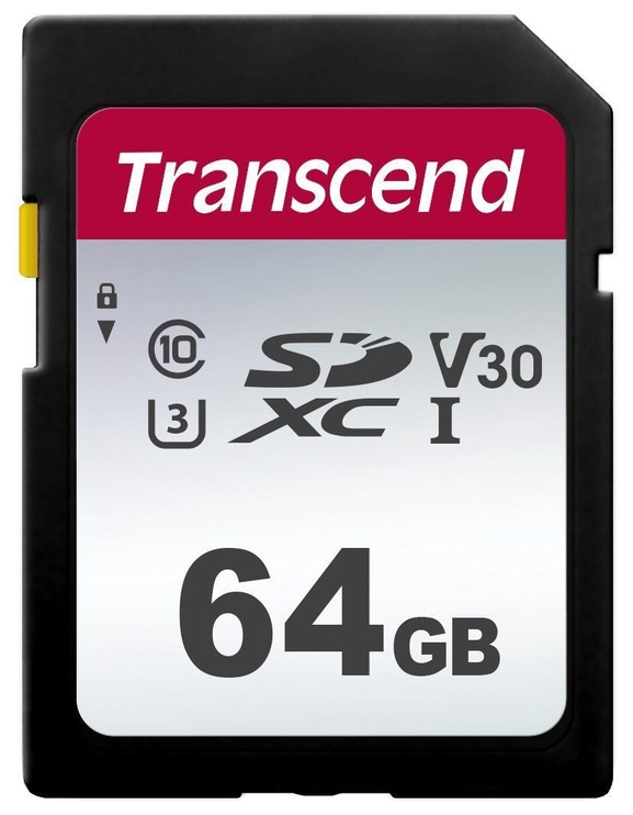 Transcend 300S 64GB SDXC/SDHC CL10 UHS-I TS64GSDC300S