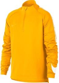 Nike Sweatshirt Dry Squad Dril JR 859292 845 Yellow XL