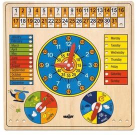 Izglītojošās rotaļlietas WOODY Multi-Purpose Calendar 90659, 1 gab.