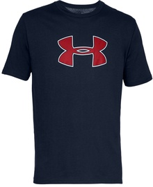Under Armour Mens Big Logo T-Shirt 1329583 408 Navy Blue M
