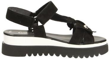 Basutės, Gabor 23-611 Sandals, Black, 38.5