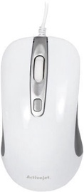ActiveJet AMY-360 Optical Mouse White