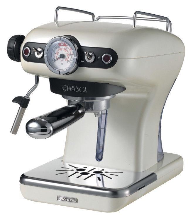 Kavos aparatas Ariete Espresso Classica 1389 Pearl