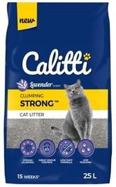 Kaķu pakaiši Calitti Clumping Strong Lavander Cat Litter 25l