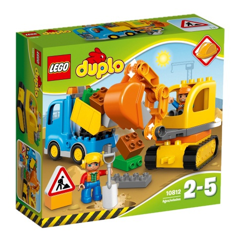 Lego Duplo 10812 Veok ja roomikekskavaator