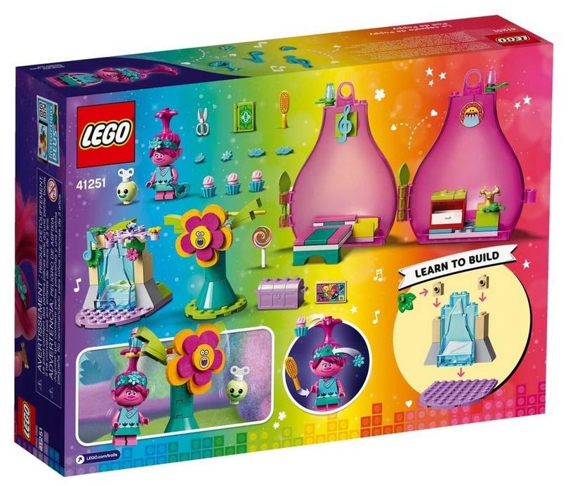Konstruktorius LEGO®Trolls 41251 Popytės namelis