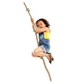 Laipiojimo virvė su mazgais, 180 cm