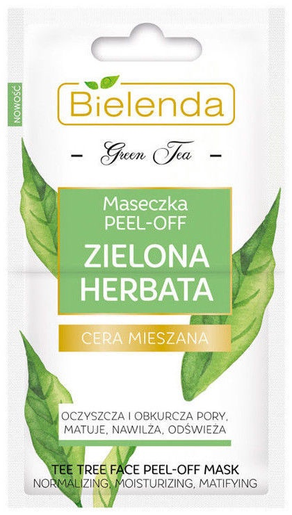 Bielenda Green Tea Peel Off Mask 2 x 5g