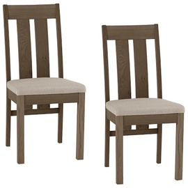Home4you Chair Turin Grey 2pcs K11305
