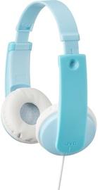 Ausinės JVC HA-KD7 Mint Blue/White