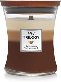 Ароматическая свеча WoodWick Cafe Sweets Trilogy Candle, 275 г