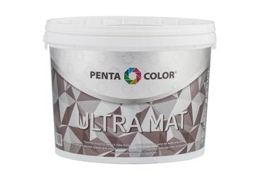 Dispersiniai dažai Pentacolor Ultra Mat, balti, 5 l