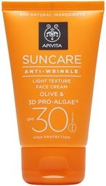 Apivita Anti-Wrinkle Light Texture Face Cream SPF30 50ml