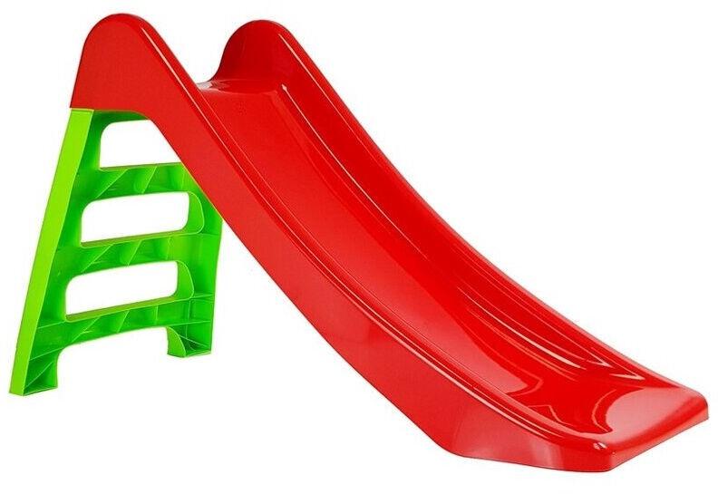 Liumägi Childrens Slide, punane/roheline, 116 cm
