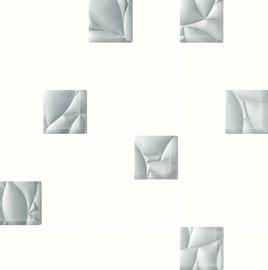 Paradyz Ceramika Esten Mosaic Tiles 29.8x29.8cm White/Silver