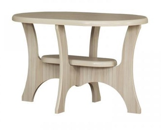 Bodzio S11 Oval Coffee Table Latte