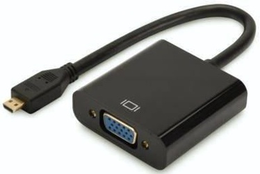 Digitus Adapter HDMI-micro to VGA Black