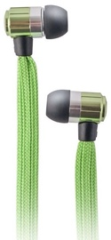 Ausinės Forever Swing Sport & Fitness Shoelace In-Ear Earphones w/Mic Green