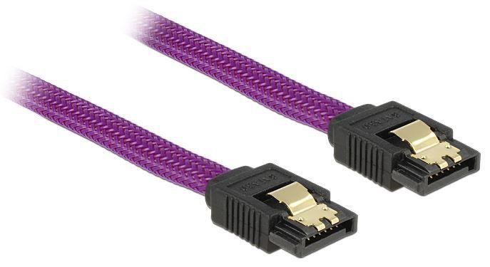 Delock Cable SATA / SATA Purple 0.3m