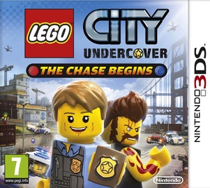 Игра Lego City Undercover The Chase Begins 3DS