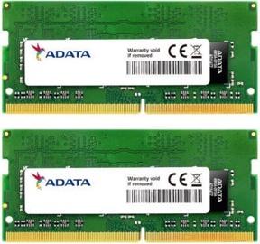 ADATA Premier 4GB 2666MHz CL19 DDR4 SODIMM Kit Of 2 AD4S2666W4G19-D