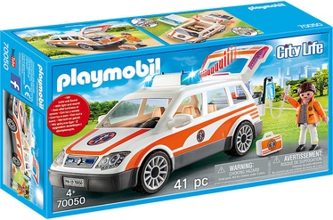 Playmobil City Life Emergency Car With Siren