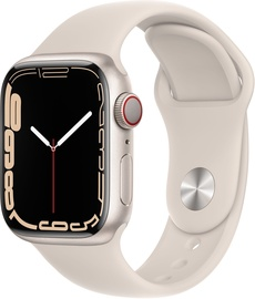 Nutikell Apple Watch Series 7 GPS + LTE 41mm Aluminum, beež