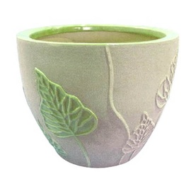 Вазон TDS Ceramic Indoor Plant Pot IP10-165 22x18cm