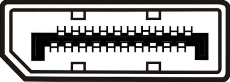 Assmann Adapter Cable Displayport / HDMI Black 0.15m