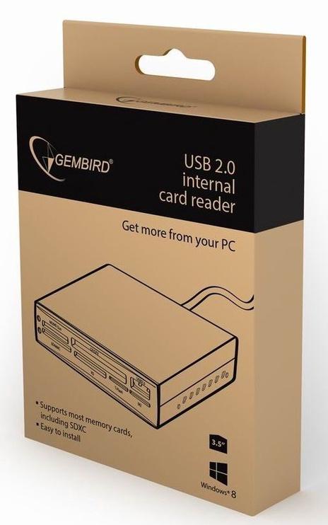 Gembird Internal Card Reader/Writer USB 2.0 Black