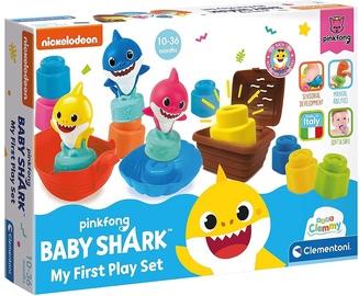 Игрушка для ванны Clementoni Baby Shark My First Play Set, 14 шт.