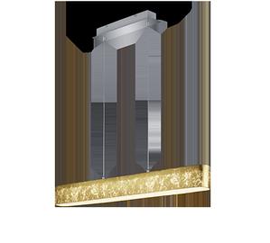 Kabantis šviestuvas Trio Lugano 320910179, 18W, LED integruota