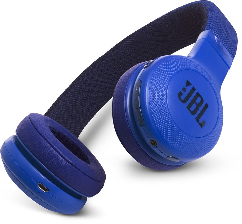 Ausinės JBL E45BT Bluetooth Headphones Blue