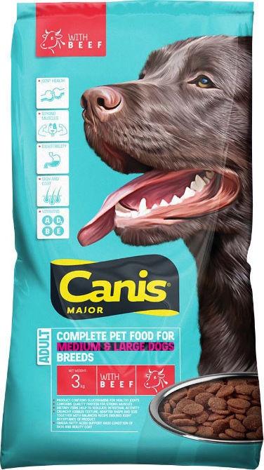 Сухой корм для собак Canis Dog Food With Beef 3kg
