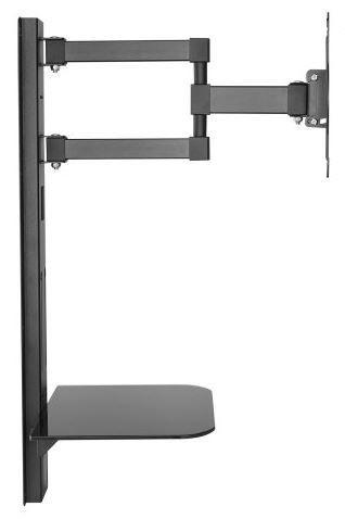 """Televizoriaus laikiklis Maclean Mount For LCD/TV 23-42"""" Black"""