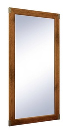 Black Red White Indiana Mirror 50x100cm Sutter Oak