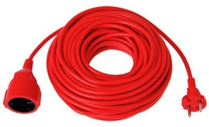 Verners Extension Cord Red 20m
