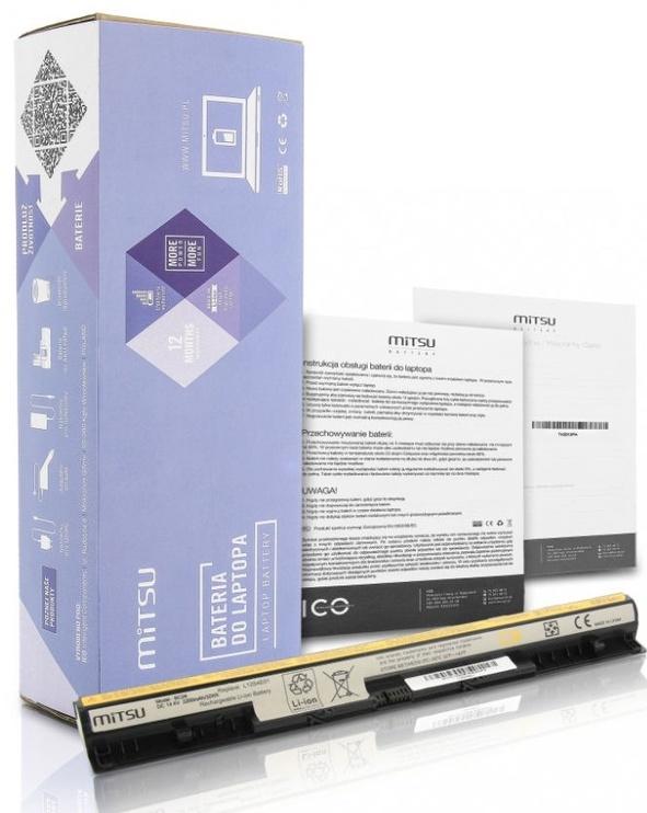 Mitsu Battery For Lenovo IdeaPad G500s/G510s/Z710 2200mAh