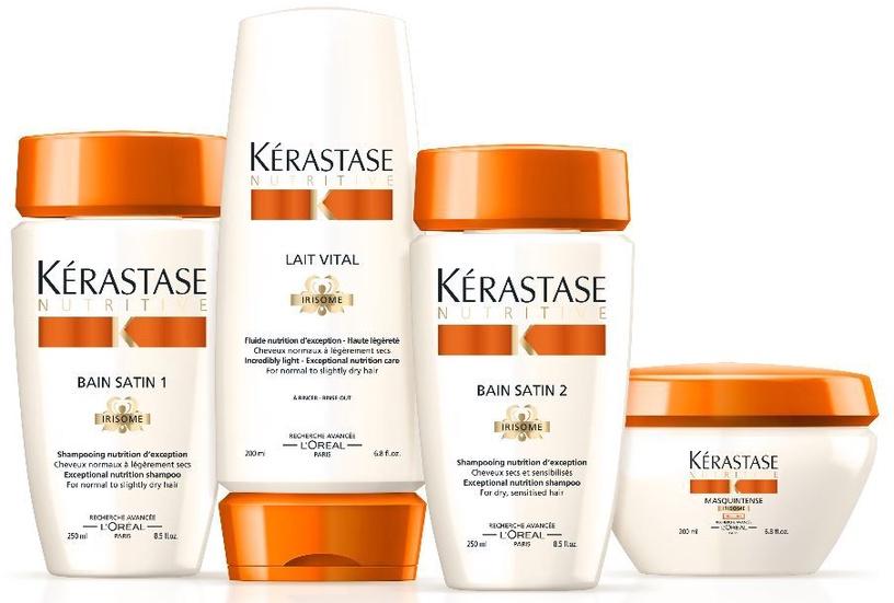Šampūns Kerastase Nutritive Bain Satin 1 Irisome Normal To Dry Hair, 250 ml