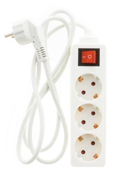 Удлинитель Okko Power Strip 3 Outlet 250V 16A 1.5m
