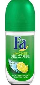 Fa Caribbean Lemon Roll On Deodorant 50ml