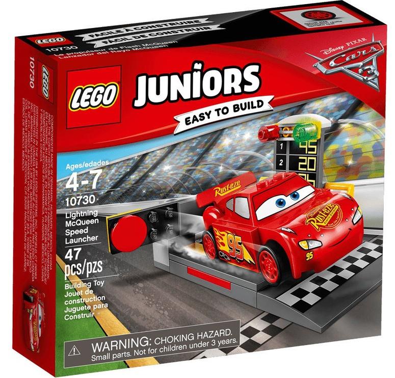 Конструктор LEGO Juniors Lightning McQueen Speed Launcher 10730 10730, 47 шт.