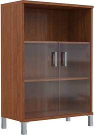 Skyland Born Shelf B 420.5 With Small Glass Doors Garda Walnut