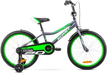 Romet Tom 10'' 20'' Grey/Green 20