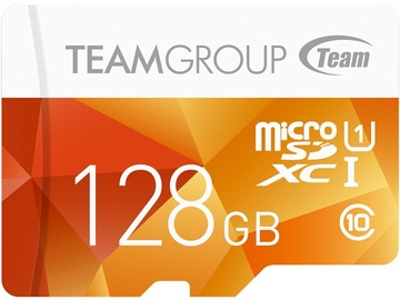 Team Group Color 128GB microSDXC UHS-1 w/Adapter