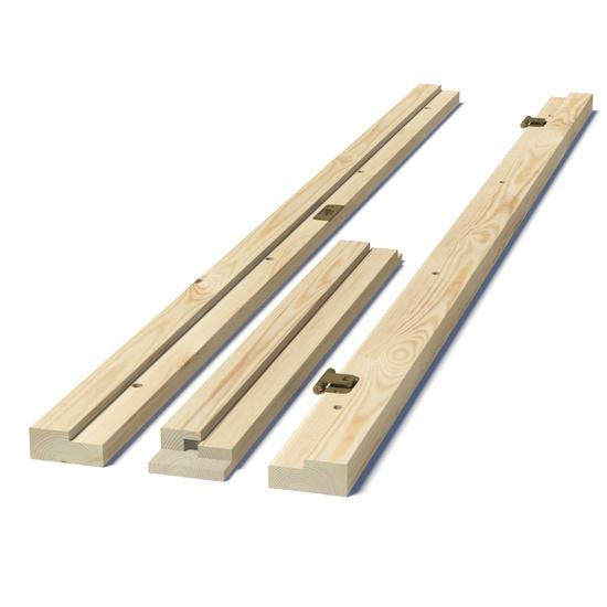 Ukseleng mantel mänd puuvalmis 7x21dm/92mm